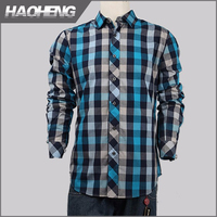 2015 Newest Useful colorful checks yarn dyed poplin shirt with 100% cotton