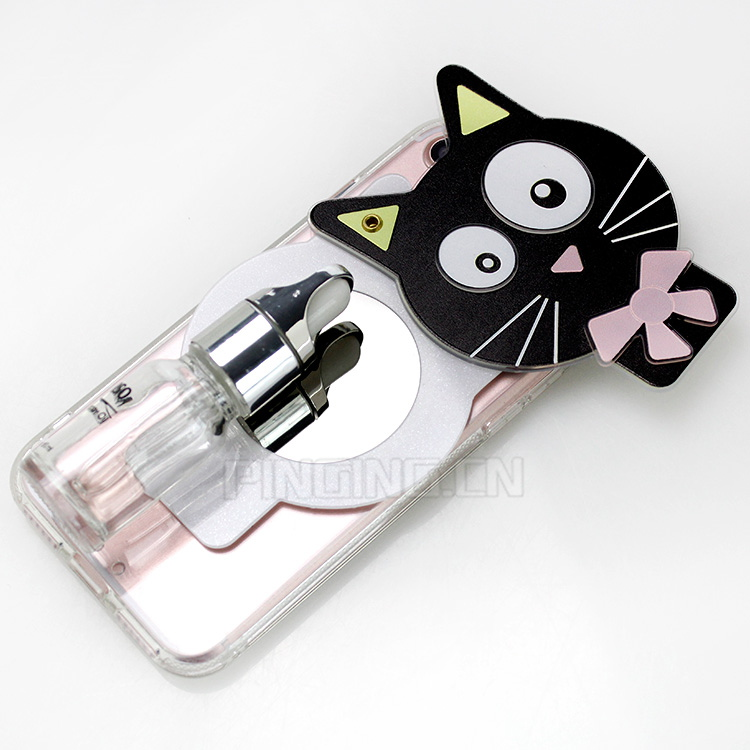 2017 Mobile Accessories Cute Makeup Mirror Phone Case Back Cover For iPhone 7
