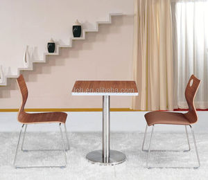 Modern Bar Cafe Bistro Pub Restaurant Dining Table Chairs Sets( FOH-BC02 )