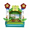 Customized factory 13*10ft flower theme commercial inflatable bouncy castles air bouncer inflatable bouncing castles for kids