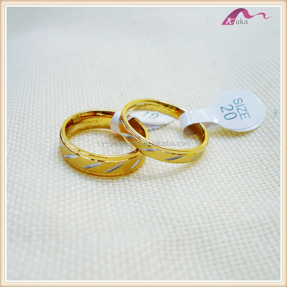 Custom Couple Gold Engagement Ring Designs Jewelry For Lover Buy
