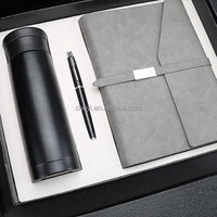 Luxury Leather Notebook Christmas Gift Ideas Corporate Business Gift Set