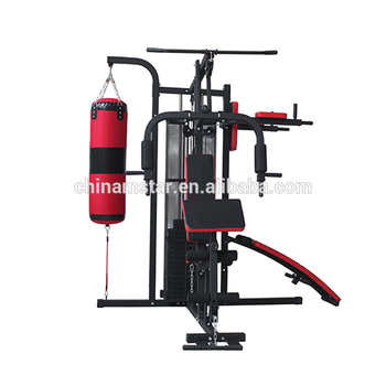 Multi station triumph multifunction home gym equipment boxing