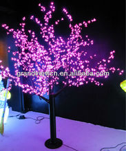 popular pink LED lighted cherry blossom tree