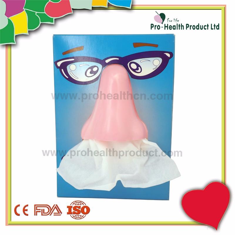 Promotion 3d Nose Facial Paper Tissue Box - Buy Facial ...