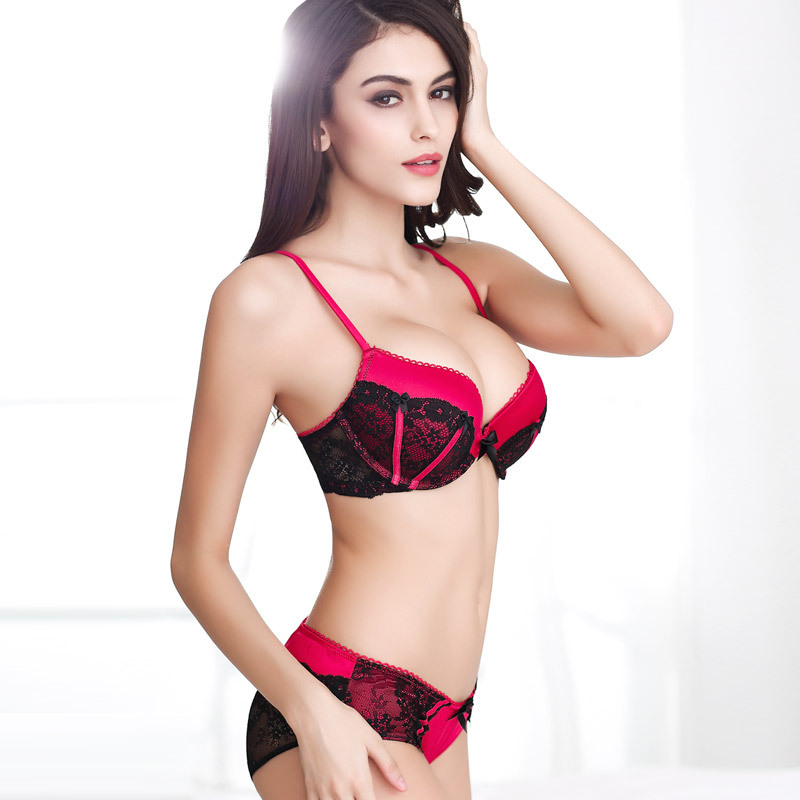7e1155e5bb50 Buy Luxurious New Womens Bra Sets Lady Cute Sexy Underwear Satin Lace  Embroidery Bra Sets Hot in Cheap Price on m.alibaba.com