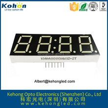 China supplier RoHs Approved 7-segment FND 4 digital number display for mini segway