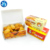 Customized Europe popular disposable take away fried chicken box