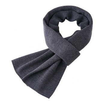 Winter necessary high quality pure wool male scarf