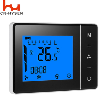 HYSEN 110v cooling adjustable house thermostat temperature control air conditioner ntc sensor