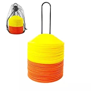 Gym Equipment Sports Football Disc Cones Set Speed Training Agility Cone