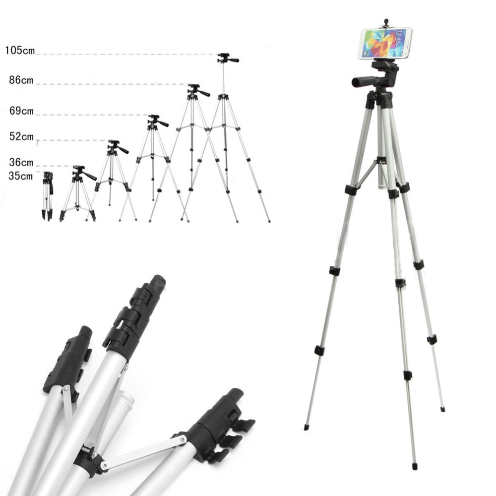Extendable Stretch 3110 Portable Digital Light weight Aluminum Camera Camcorder Tripod Stand