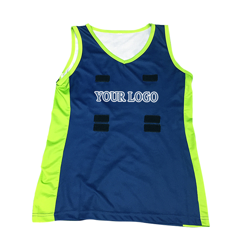 Sublimation Custom Woman Netball Uniform