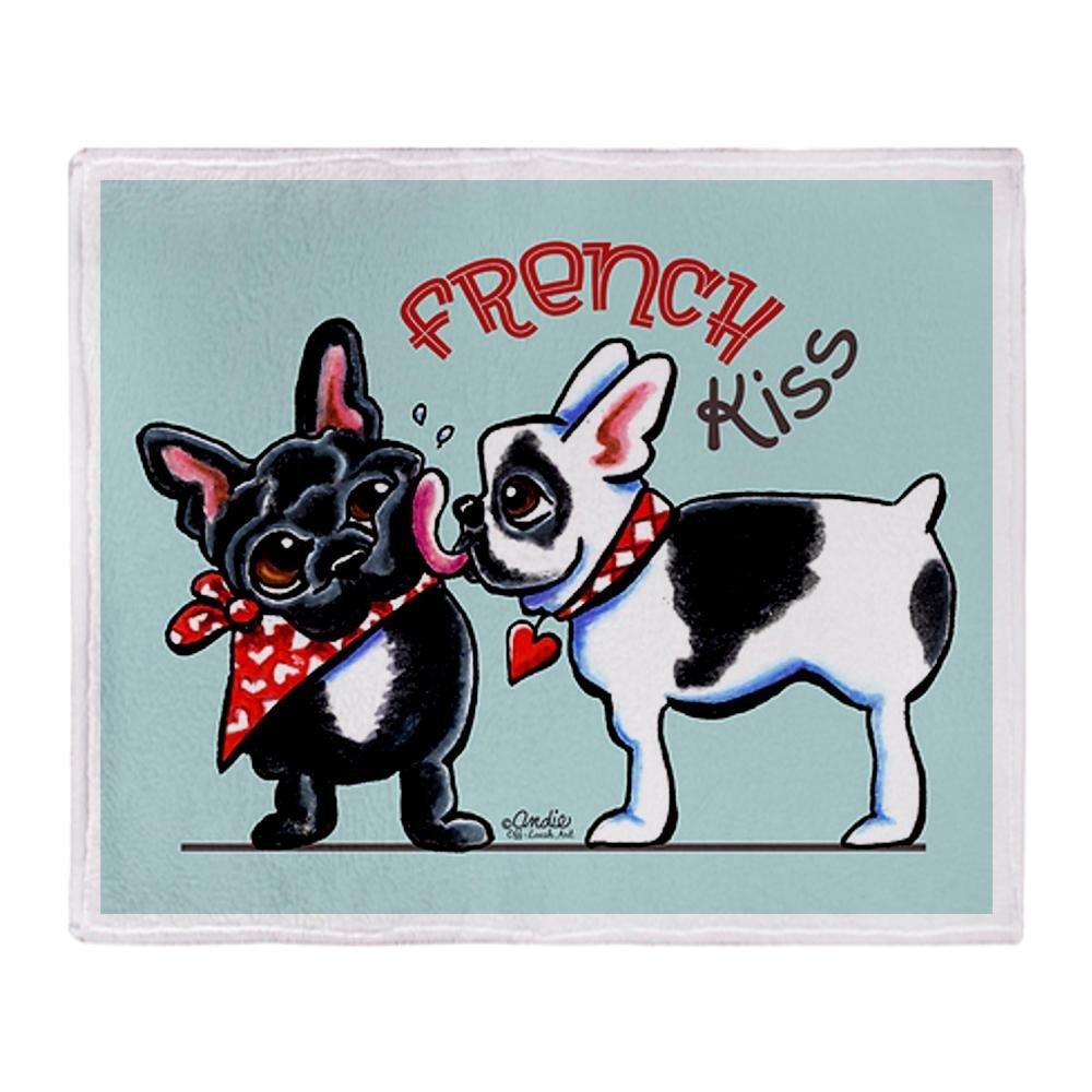 Поздравление марта, открытка с французскими бульдогами