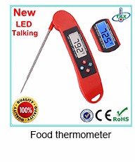Best selling OEM design cooking digital food thermometer for pizza ovens