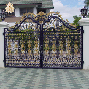 main gate colors wrought iron door inserts sliding iron main gate design NTIRG-322X