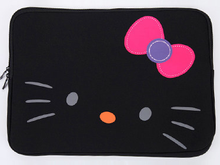Fashion Cute Hello Kitty Polyester Felt Pad Bag For Girls