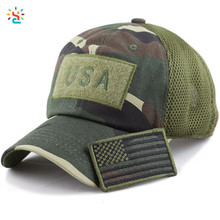 Low profile gorras baseball camo hat mesh back hats 6 panel curved bill baseball cap tactical operator cotton cap