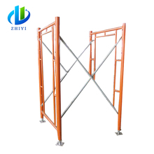 All types of upright scaffold h frame scaffolding specifications for Construction business