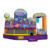 High quality good logo printing 5 in 1 inflatable combo , inflatable bounce with slide for kids