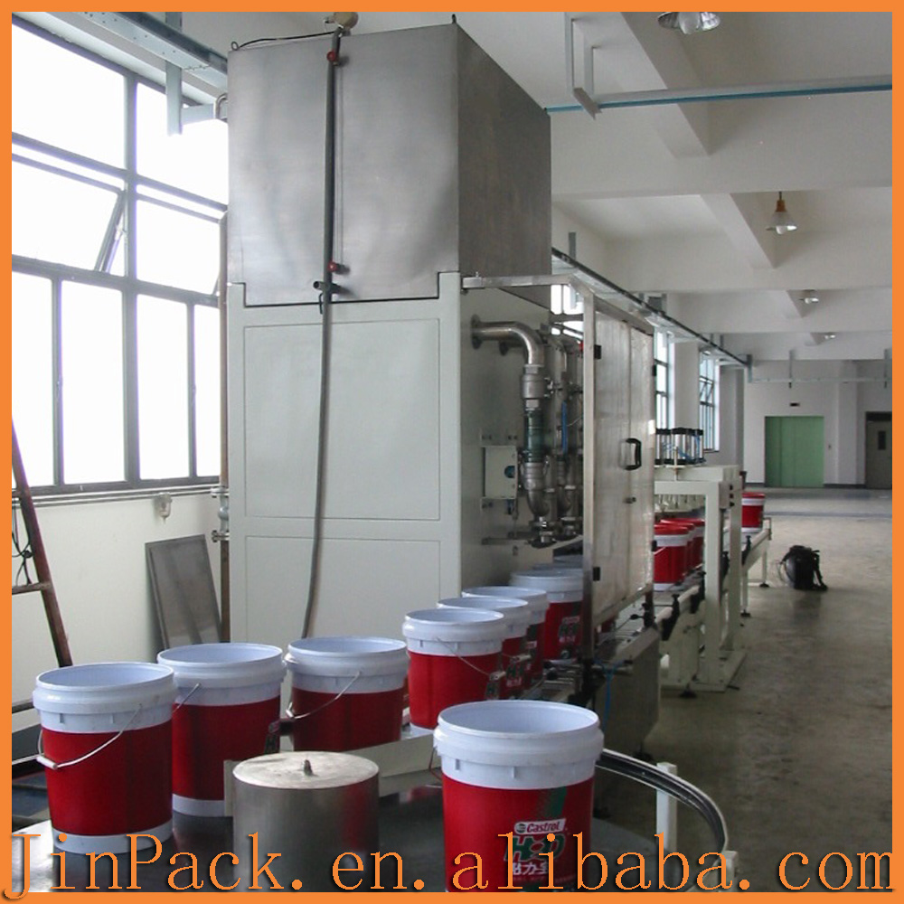 Automatic high speed Refined Olive-Pomace oil filling machine