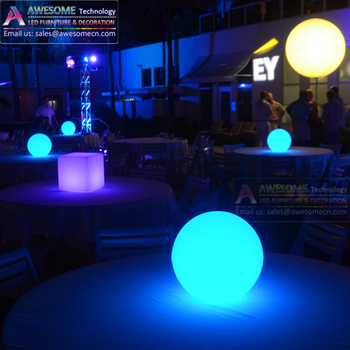 Event Rental Wedding Acrylic Led Lighted Table Decorative