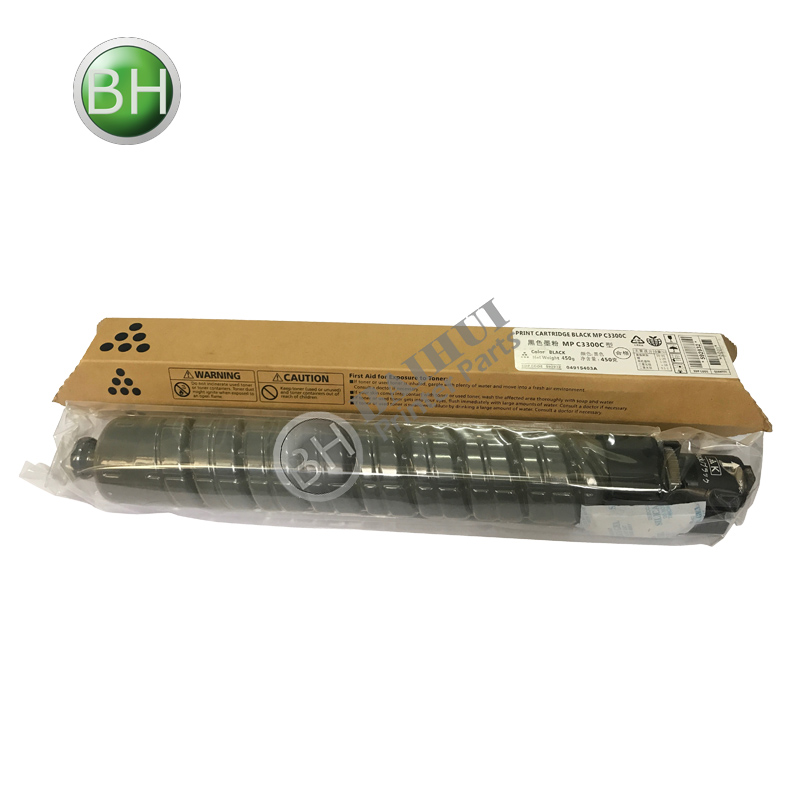 Zwart Ricoh MP C3300 Toner Cartridges Compatibel voor Ricoh MP C2800 C3300 841276 Copier Toner