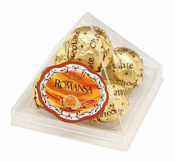 Halal Fda Haccp Certified Good Quality Milk Chocolate Pyramid Shape