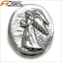 Angel Faith Pocket Token Coin Handcrafted Pewter