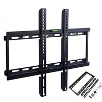 Customized heavy duty metal floating shelf full motion lcd monitor holder tv wall mount brackets