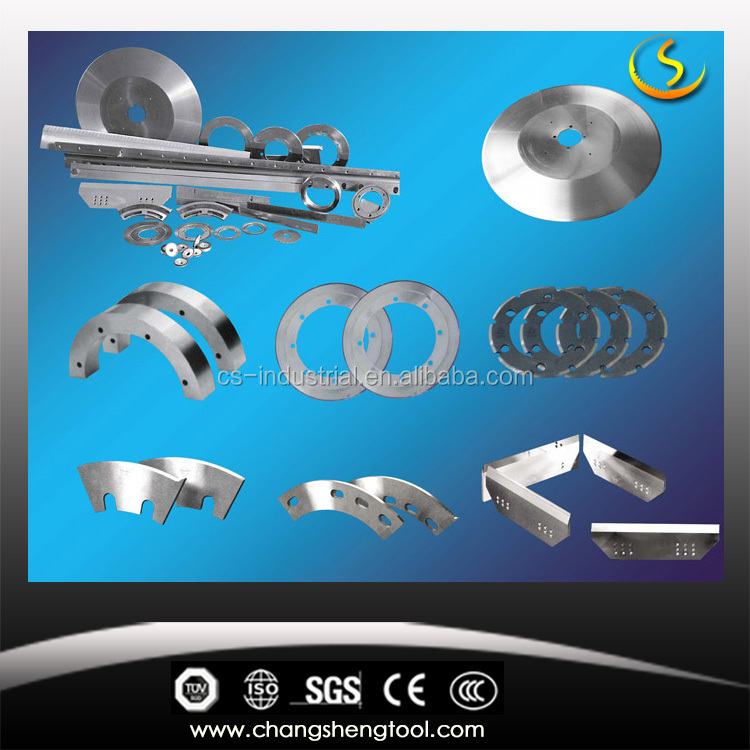 dechangyu paper machine spare parts/knife bottom blades