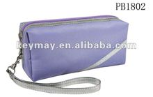 Cute fashion leather cosmetic bags for teens
