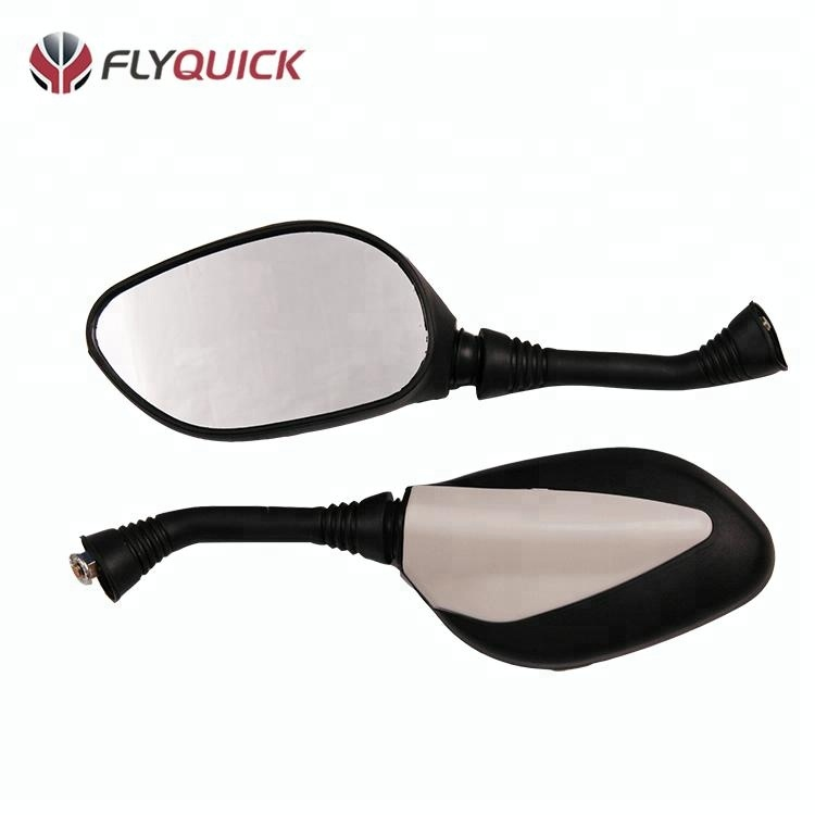 Wholesale motorcycle spare parts 135*80mm billet rear view cheap mirrors