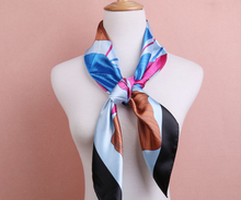 High Quality Print Square Silk Scarf