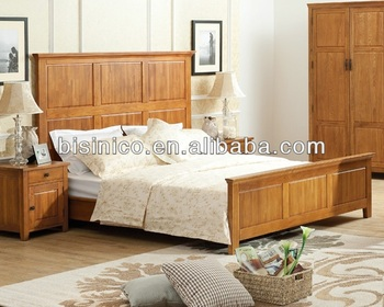 English Natural Country Furniture,Bedroom Furniture,British Deco,Panel  Double Bed,Wood Carving Sleigh Bed With Tall Headboar - Buy Heavy Wood  Bedroom ...