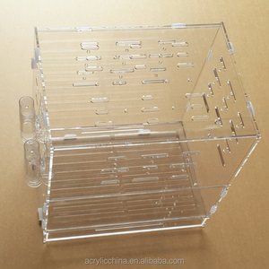 Cheap clear plexiglass bird cage, acrylic hamster cage for sale