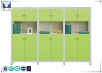 Modular Office Shelf / Green Steel Filing Cabinet / storage furniture