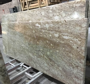 Bullnose edges durable african rainbow granite kitchen for Granite durability
