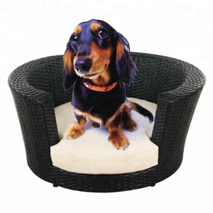 2018 Hot Sale Leisure Ways Dog Beds Wicker