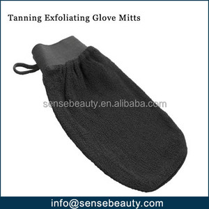 Before After Tanning Exfoliating Glove Mitts
