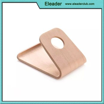 huge selection of 6d740 79049 Real Wood Desk Holder Table Stand For Iphone 6 Plus 4.7