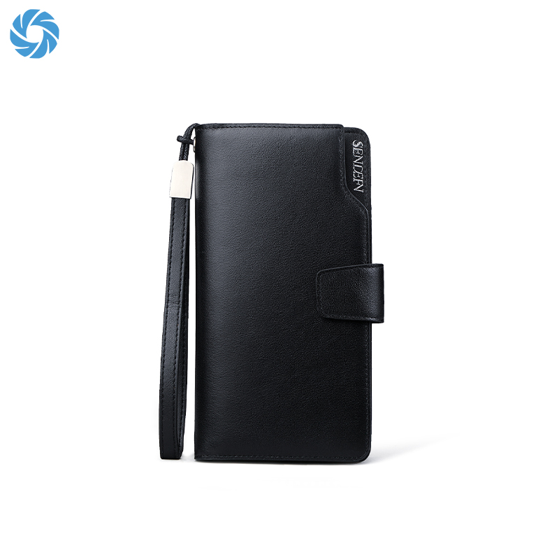 OEM ODM china wholesale leather minimalist long trend men's <strong>wallet</strong>