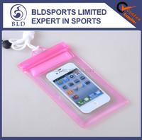 Wholesale price waterproof mobile phone transparent bag