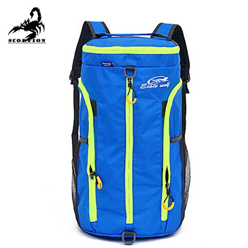 Get Quotations · Backpack Big Mens 2015 Summer New Folded Waterproof Travel  Backpack Bags Sport Gym Barrel Bags Big cb25c65f99c70