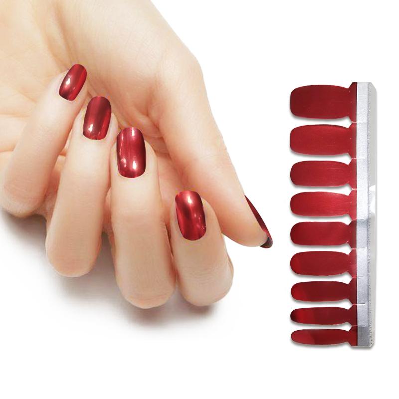 KIKILEE metallic nail sticker for nail beauty DIY, All kinds;customized