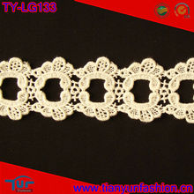 Fancy cotton crochet collar lace bridal veil lace
