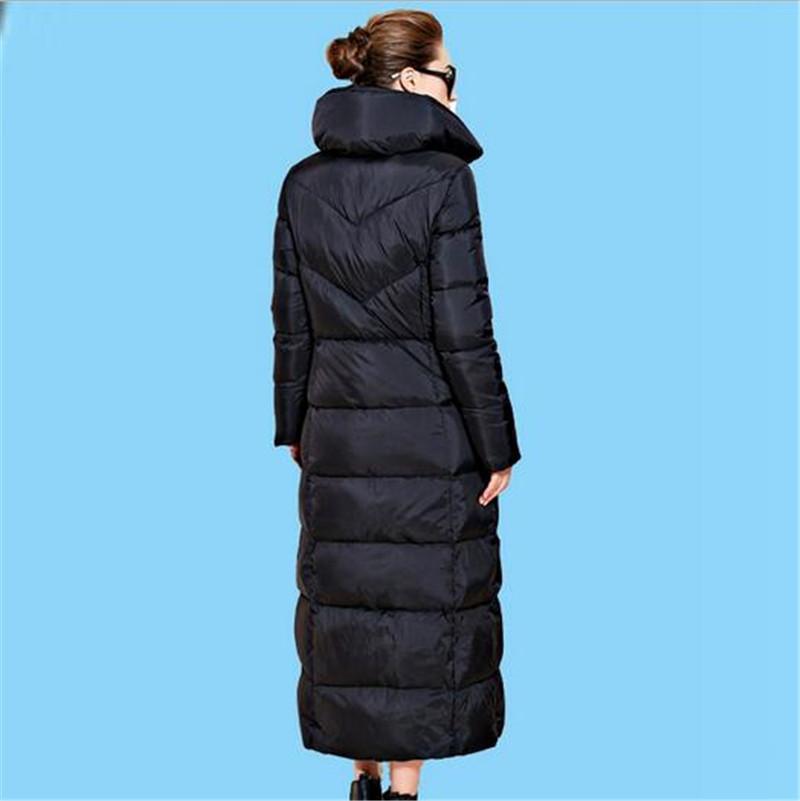 Europe 2016 font b Winter b font New Fashion Women White Duck Down Jacket Temperament Thicken