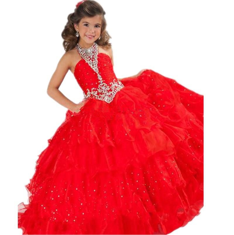 Cheap Red Rose Flower Girl Dresses Find Red Rose Flower Girl