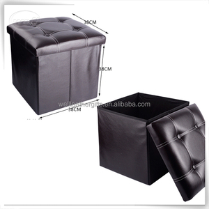 home living room collapsible puff ottoman