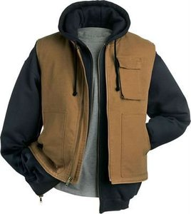 men's winter Duck Warm Vest